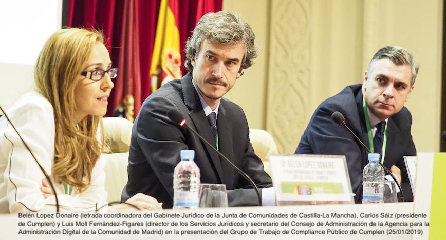 Nuevo grupo de trabajo en Compliance Público en Cumplen