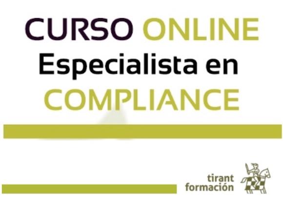 Programa Especialista en Compliance, de Tirant Formación