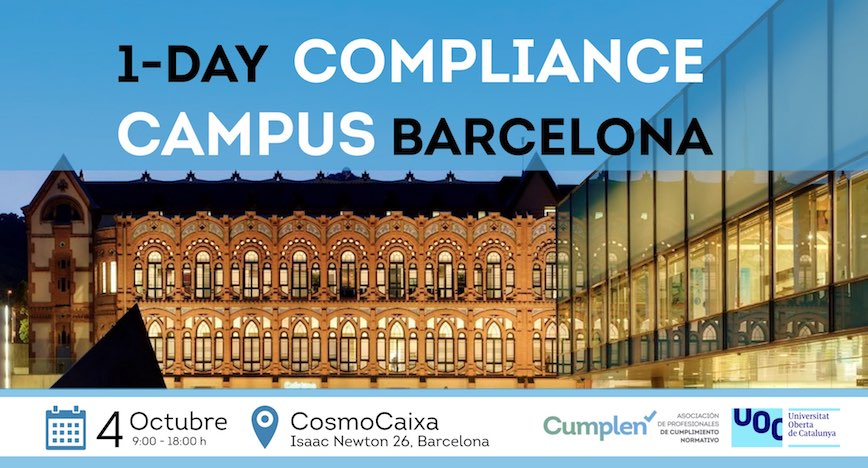1-DAY COMPLIANCE CAMPUS BARCELONA