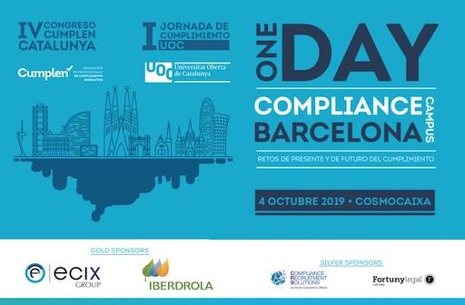 ONE DAY COMPLIANCE CAMPUS BARCELONA: RETOS DE PRESENTE Y DE FUTURO DEL CUMPLIMIENTO