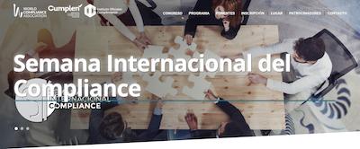 Iª  Semana Internacional del Compliance