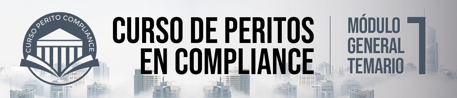 Primer Módulo del Curso de Peritos en Compliance - Ponentes