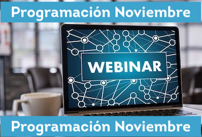 Programación Webinars Cumplen NOVIEMBRE 2020