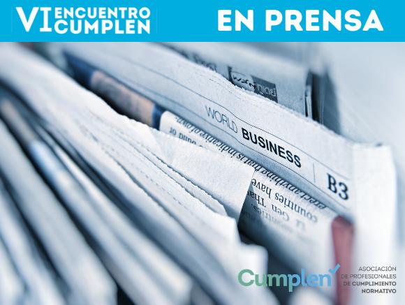 El VI Encuentro CUMPLEN en prensa