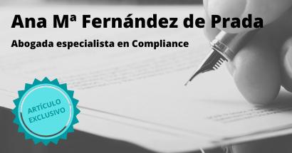 Compliance Penal y seguridad jurídica. María Ana Fernández de Prada Alfín. Socia Cumplen