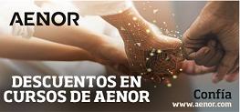 CURSOS AENOR - DESCUENTOS EXCLUSIVOS para SOCIOS CUMPLEN.
