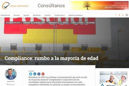 Compliance: rumbo a la mayoría de edad. Artículo del vicepresidente 3º de Cumplen, Eduardo Navarro, publicado en Canal Compliance