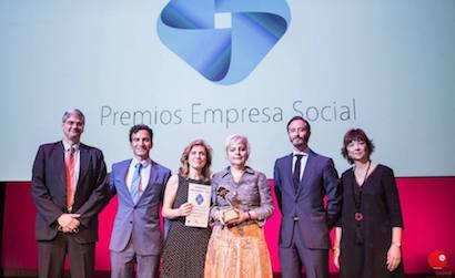 Cumplen, galardonada en los Premios Empresa Social 2018