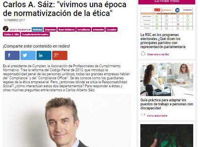 Carlos A. Sáiz: