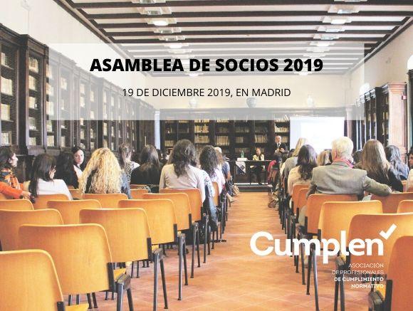ASAMBLEA GENERAL ORDINARIA DE SOCIOS 2019