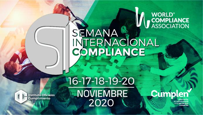 Inscríbete ya: I Semana Internacional del Compliance