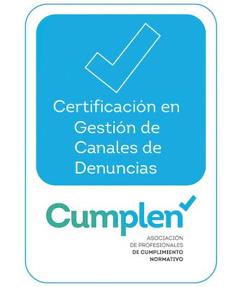 CUMPLEN lanza la primera Certificación en Gestión de Canal de Denuncias (GCD)